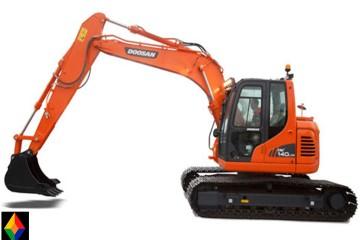 Excavadora Doosan DX140LCR-01