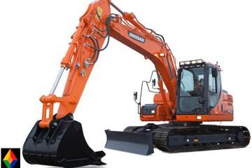 Excavadora Doosan DX160LC-01