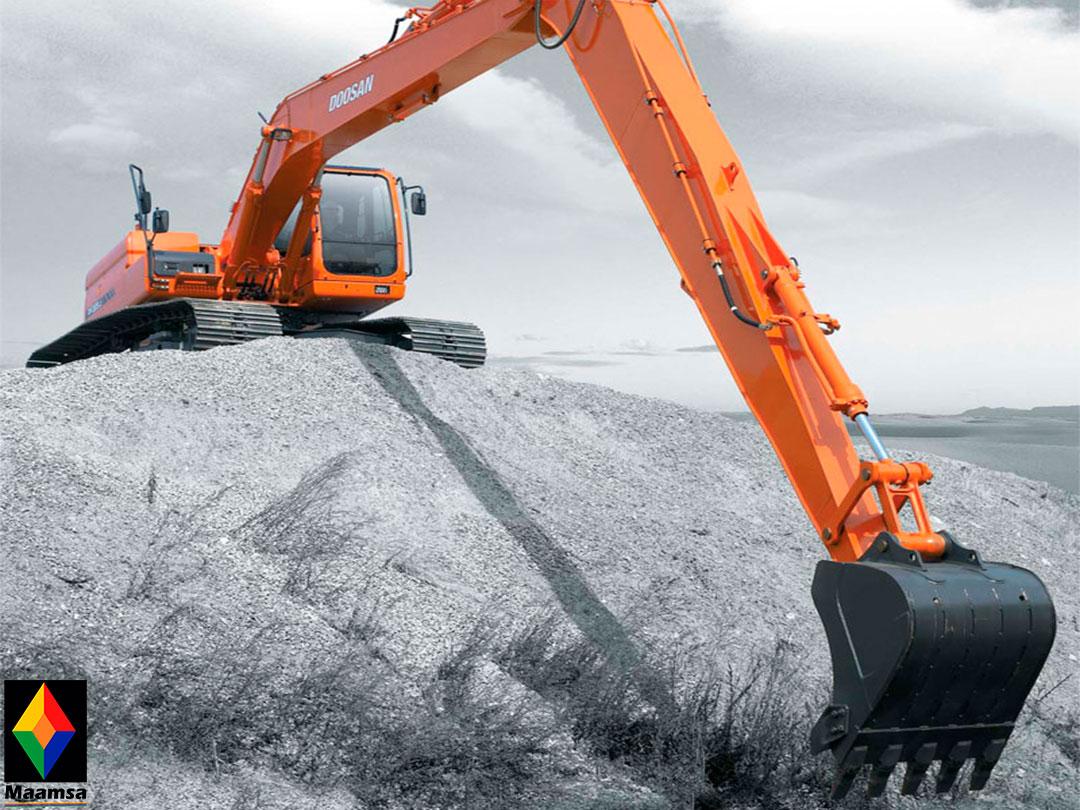 Excavadora Doosan DX225LC SLR-01