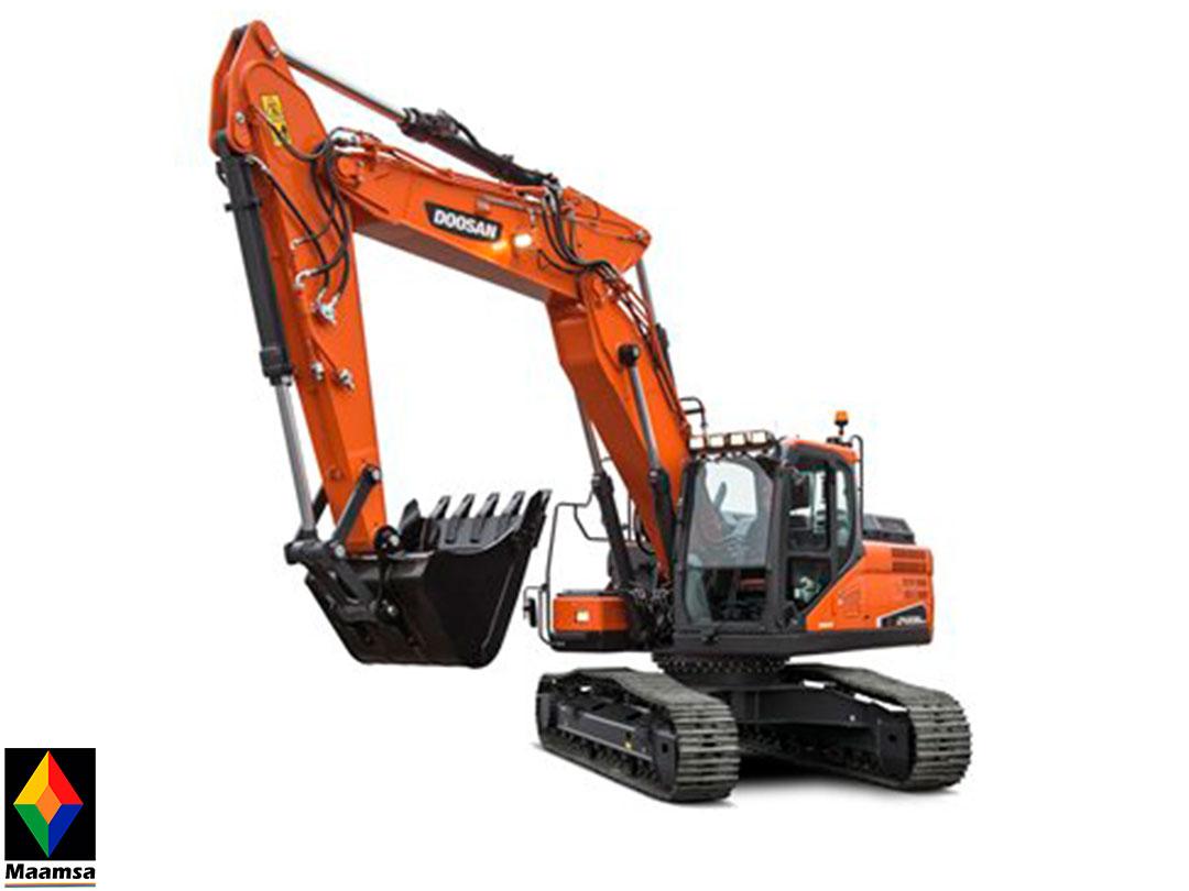 Excavadora Doosan DX235NLC-01