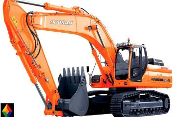 Excavadora Doosan DX420LC-01