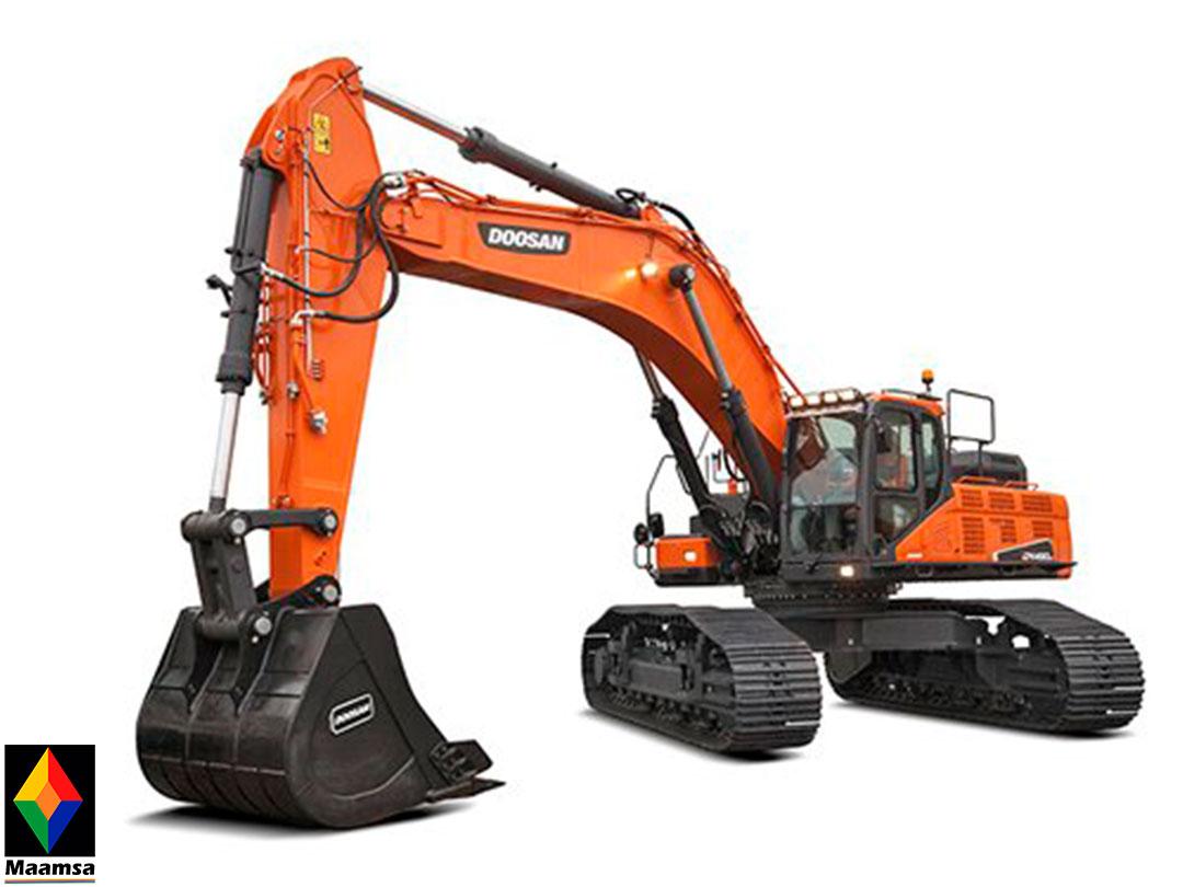 Excavadora Doosan DX490LC-01