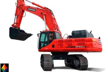 Excavadora Doosan DX530LC-01